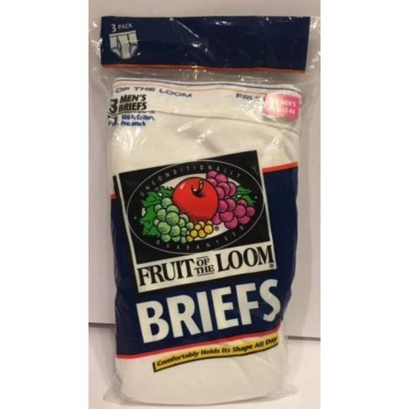 bf3543e576927e Fruit of the Loom Other - Vintage Fruit Of The Loom Briefs Underwear XL 1996
